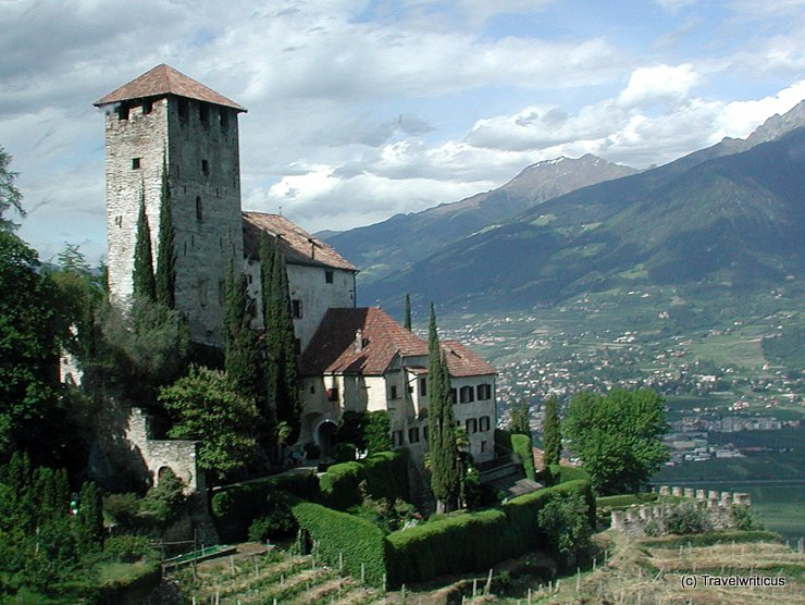 Schloss Lebenberg in Tscherms, Italien